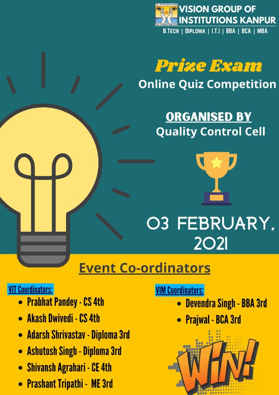 Prize exams
